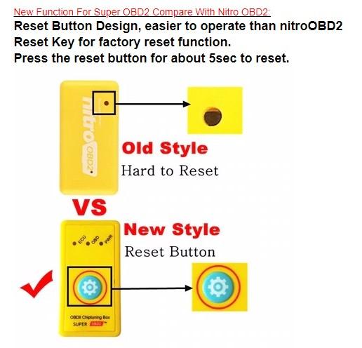 Aliexpress Reset Button Comparison