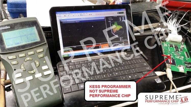 Supreme Performance Chip Using Misleading Kess Programmer Photos