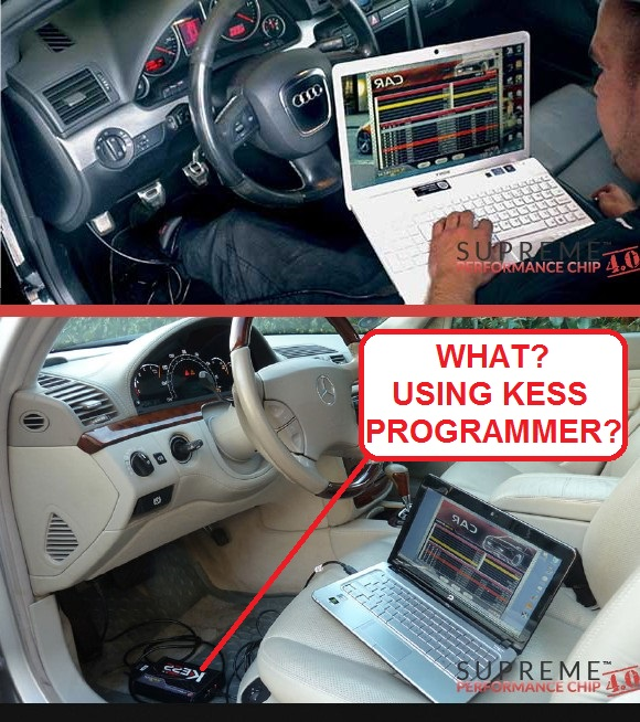 Supreme Performance Chip by Greatlakesauto Using Fake Kess Programmers Ad