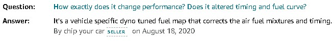 Amazon Chipyourcar Fuel Map Question