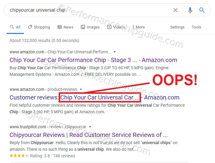 Chipyourcar Google Search Universal Chip