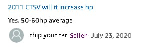 Chipyourcar Thunderbolt Performance Chip Amazon HP Gain Claims