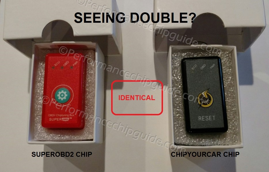 Comparison between SuperOBD2 and Chipyourcar Thunderbolt Performance Chips