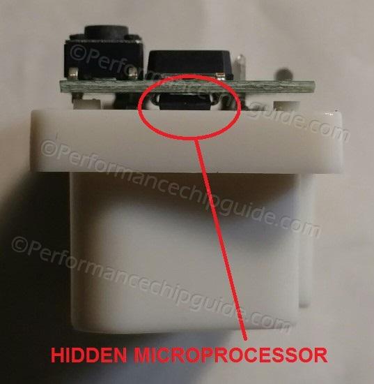 Dragonfire Performance Chip Microprocessor Hidden on Underside of Circuit Board