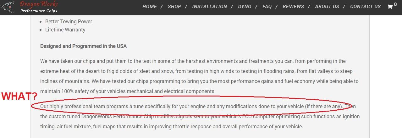 Dragonworks Performance Chips Custom Tuned