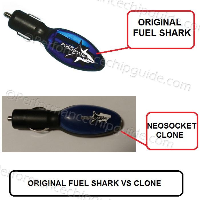 Fuel Shark Cigarette Lighter Fuel Saver Device Original vs Neosocket Clone Comparison