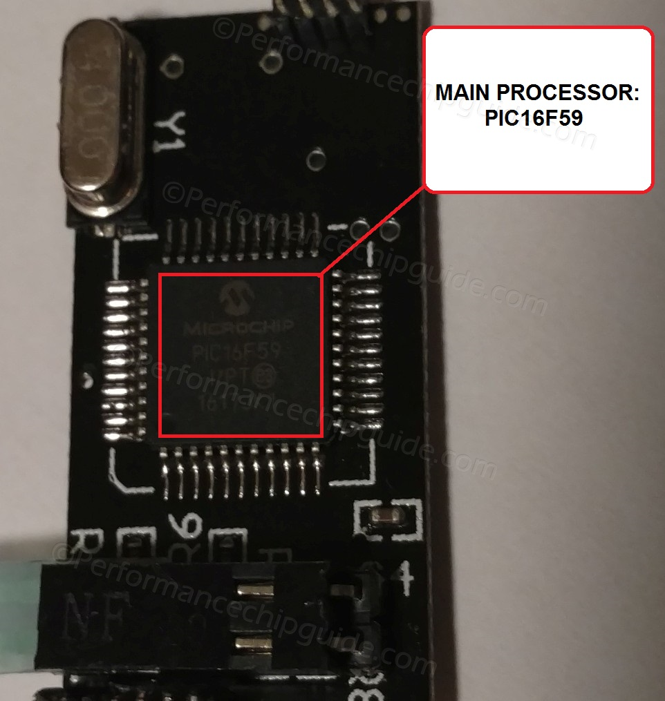 Gearboxx Pic16F59 Microprocessor
