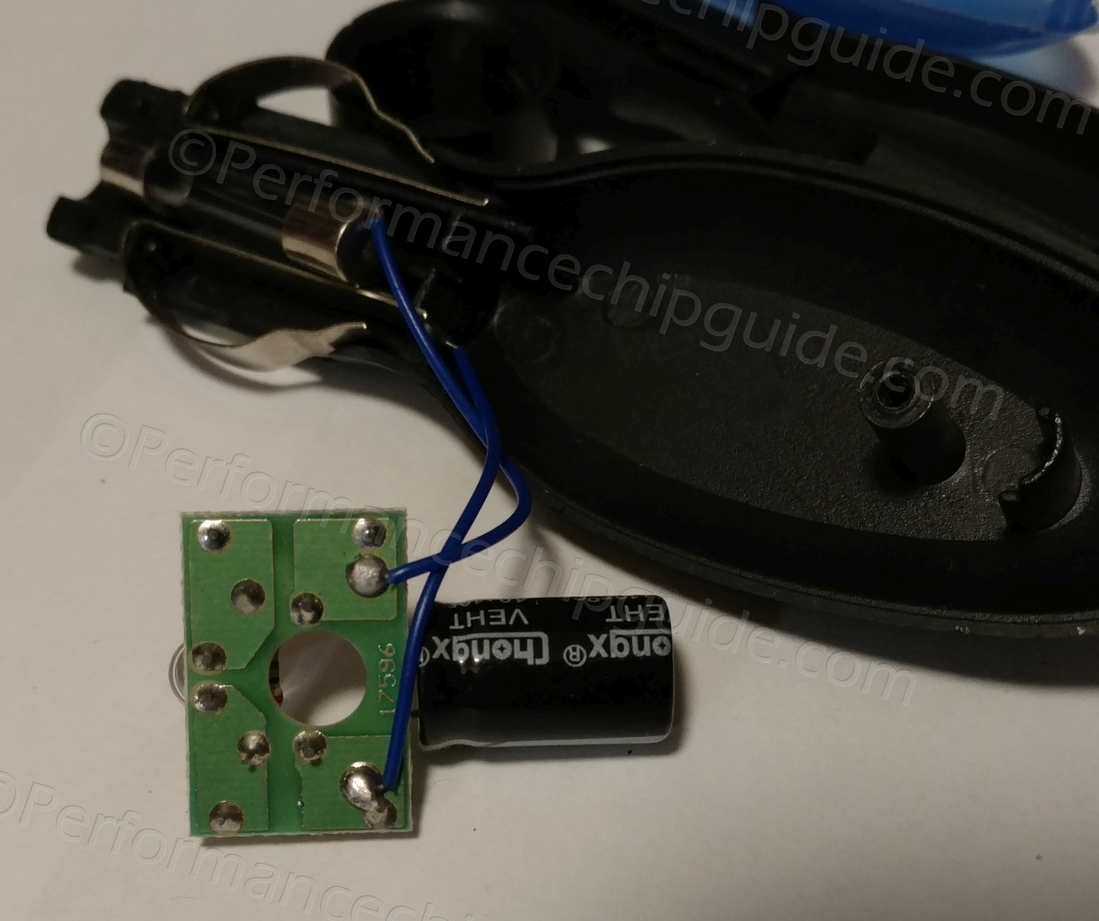 Neosocket Fuel Shark Circuit Board Reverse View Bottom Side