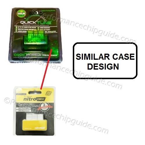 Nitro OBD Blister Pack Case vs Quicktune Case