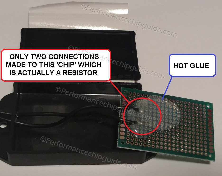 PCR Performance Chip Revamp Reverse Circuit Board Hot Glue