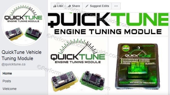 Quicktune Facebook Site Quicktune.ca