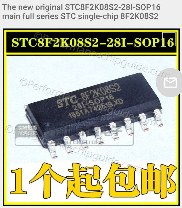 STC8F2K08S2 MCU Made by STC in China