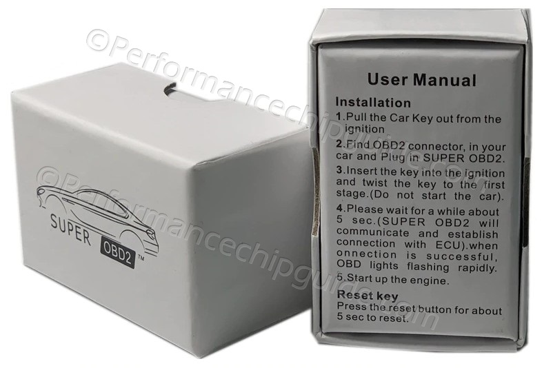 SuperOBD Box and Install Instructions