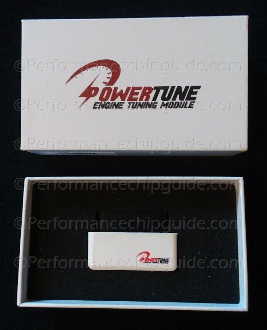 Powertune Engine Tuning Module Case Packaging and Box